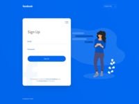 Simplified Facebook Signup