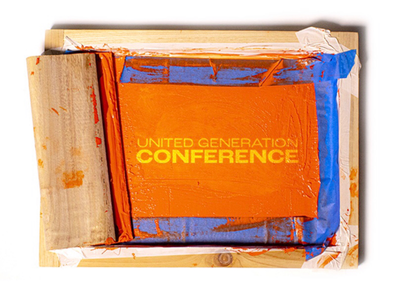 UG Conference youth ministry branding lettermark physical screenprint conference design event christian