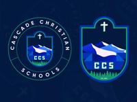 Cascade Christian Schools Logo | WIP