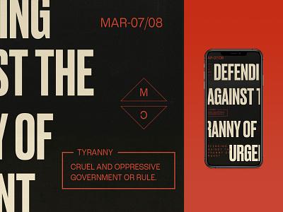 Defending Against The Tyranny of Urgent | Sermon Graphic sermon graphic sermon art church vector ux branding logo lettering design christian iphone x