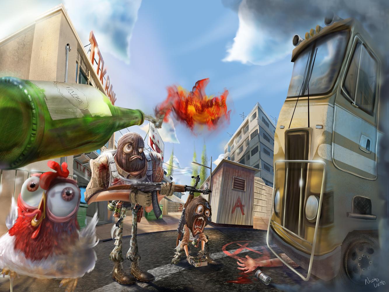 Ilustra Game - Cs Go by Nicolas Viotto | Dribbble | Dribbble