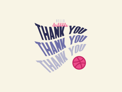 Welcome to Dribble - Thank You