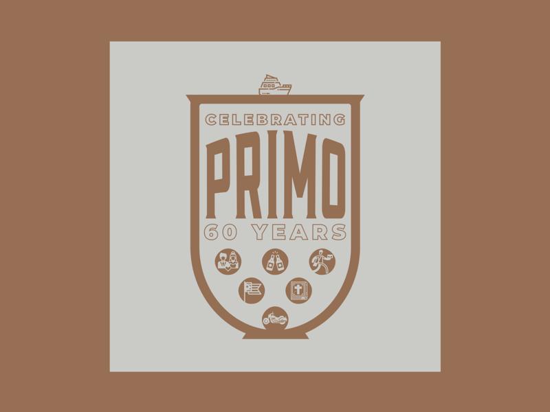 Primo Celebration Shirt typography iconography iconographic family marvel icons