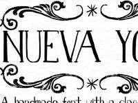Nueva York Typeface