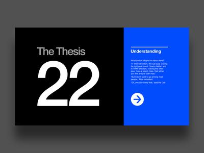 Contrast typography blue inspiration canon goldenratio webdesign typogaphy