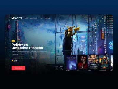 Online Cinema Concept