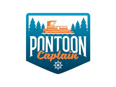Pontoon Captain Badge pontooning boating badge pontoon captain pontoon boat pontoon