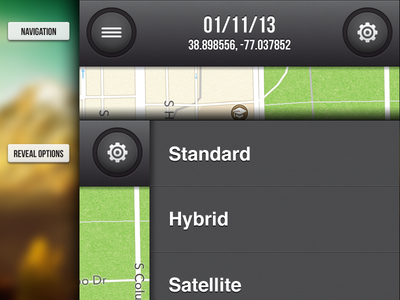 Geohash Navigation gps iphone ios navigation