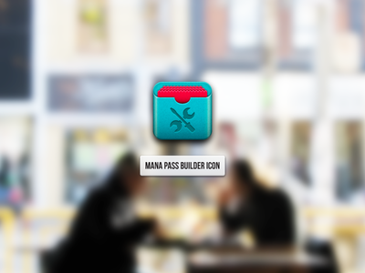 Icon for Mana Pass Builder ios passbook iphone icon