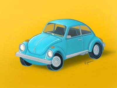 Vintage car Volkswagen