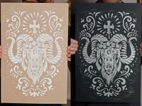 Cabra prints dribbble
