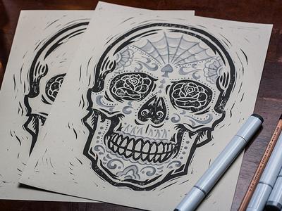 0244c45b6 Derrick Castle / Tags / sugar skull | Dribbble