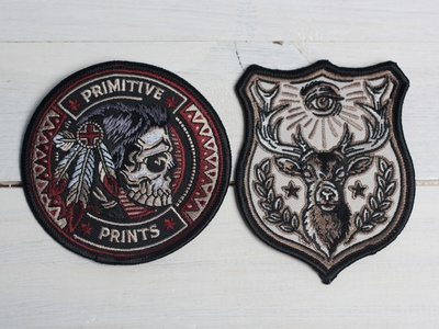 Tribal Nations & Stag Force - Embroidered Patches