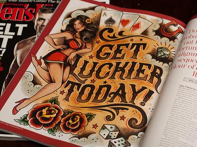 Get Luckier Today - Men's Health Magazine