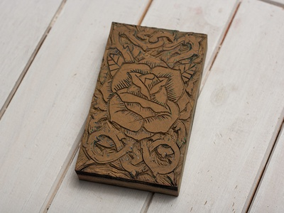 Rose Block Carving - Give Away