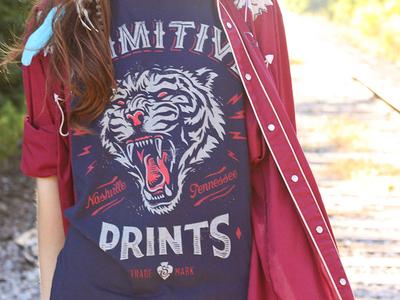 Primitive Prints - Tee