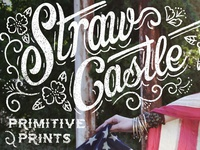 Straw Castle - Primitive Prints