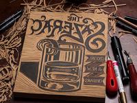 The Sazerac - Block Carving