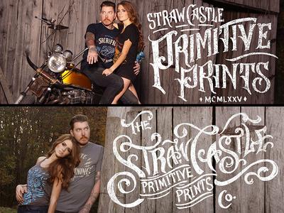 Straw Castle - Primitive Prints