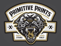 Primitive Prints - Strike First Patch