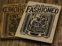 Old Fashioned - Block Print
