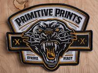 Primitive Prints - Strike First Patch