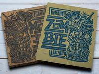 Zombie - Block Print