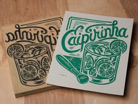 Caipirinha - Block Print