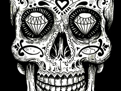 Sugar Skull By Derrick Castle