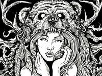 Tattooed Bear Dribble