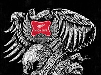Miller eagle can dribbble
