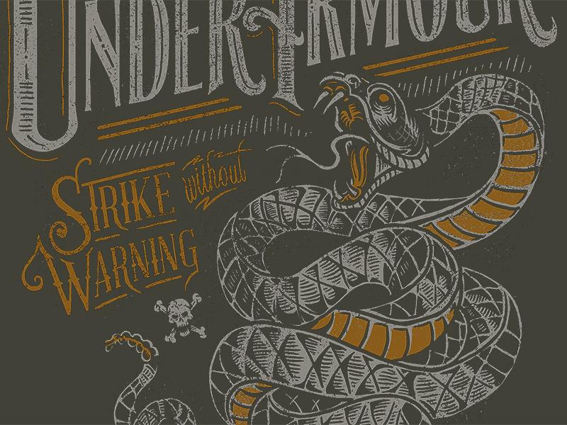Ua snake design dribbble