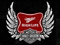 Miller High Life - Harley Davidson