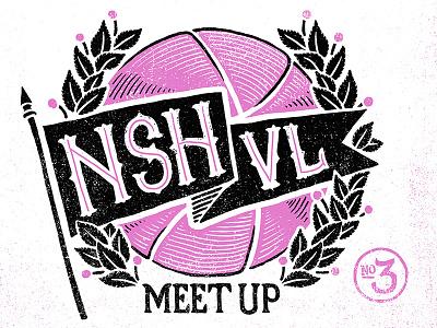 Nashville Dribbble Meetup - September 6th meetup meet up nashville unite flying saucer