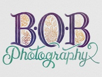 B.O.B Photography Logo