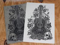 Canciones De Los Muertos - Block Print