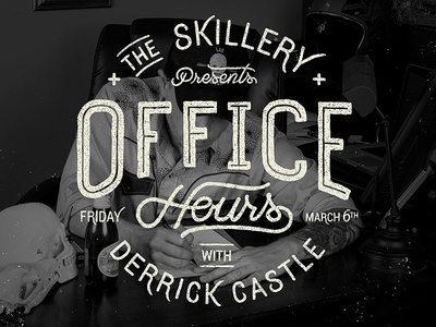 Office Hours with Derrick Castle office hours skillery qa derrick castle nashville typography lettering