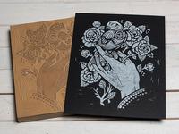 Floarea's Hand - Block Print
