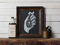 Fatal Hand - Limited Edition Screen Print