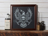 Burning Eagle - Limited Edition Print