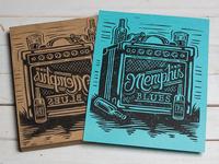 Memphis Blues - Block Print
