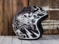 Electric Predators - Motorcycle Helmet