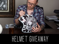 Custom Helmet - Giveaway