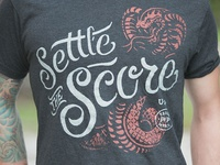 Settle the Score - T-shirt