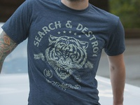 Search & Destroy - T-shirt
