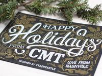 Hoppy Holidays - Postcard