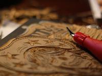 Gram Parsons Block Carving