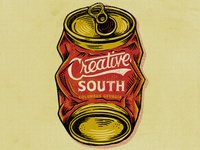 Creative South Beer Can