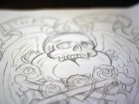 Cross Bones Sketch