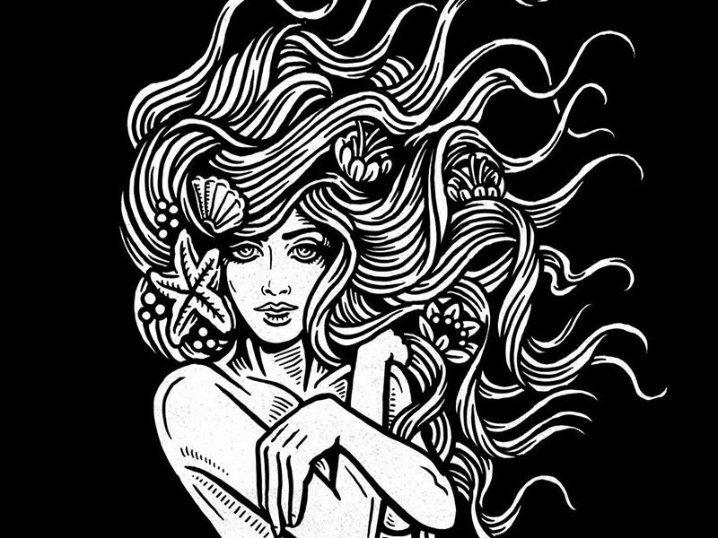 Mermaid dribbble